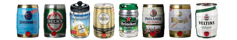 5l Bierfass kaufen Krombacher Fass, Fassbier mit Zapfhahn
