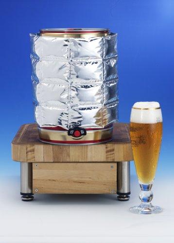 Bierfass Kühlmanschette für 5 Liter Partyfass Partydose 2-er Set -
