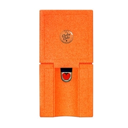 Cooling Cubes CURL - Picknick Kühlbox für die 5 Liter KEG Partydose (Orange) -